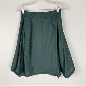 BCNGeneration Asymmetrical Green Skirt
